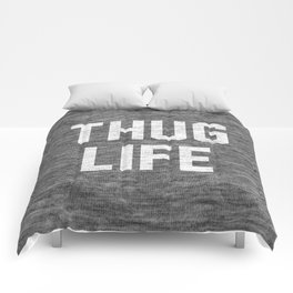 Thug Life - dark Comforters