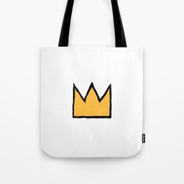 Crown of Basquiat Tote Bag