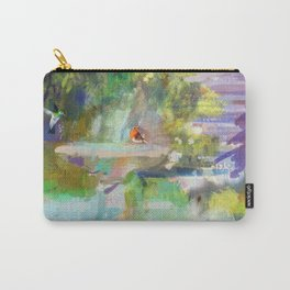 Spanish Garden Carry-All Pouch