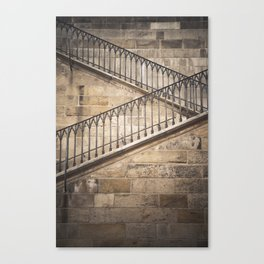 The way up Canvas Print