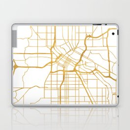 MINNEAPOLIS MINNESOTA CITY STREET MAP ART Laptop & iPad Skin