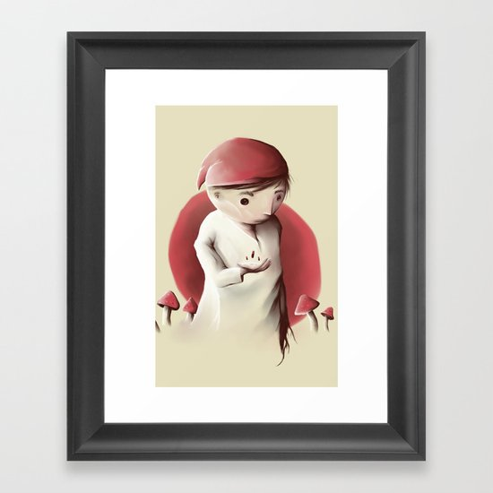 Jimmy and the sleeping pills nigthmare Framed Art Print