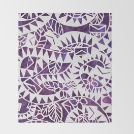The Color Purple Throw Blanket