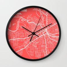 Vintage Nashville Pink Wall Clock