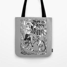 My Bicycle or My Death Tote Bag