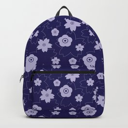 Sakura blossom - midnight blue Backpack