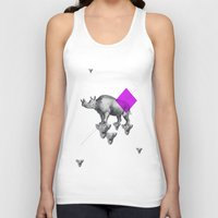 psychology Tank Tops featuring Archetypes Series: Solitude by Attitude Creative