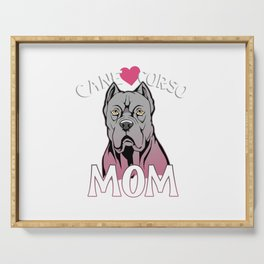 Mastiff Mom Gift Cane Corso Mom Italian Mastiff Product Serving Tray