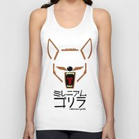coyote Tank Tops featuring Coyote by Millennium Gorilla