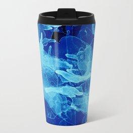 Microcosmos Azul Travel Mug