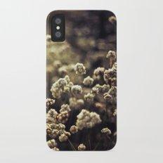 Baby's Breath Slim Case iPhone X
