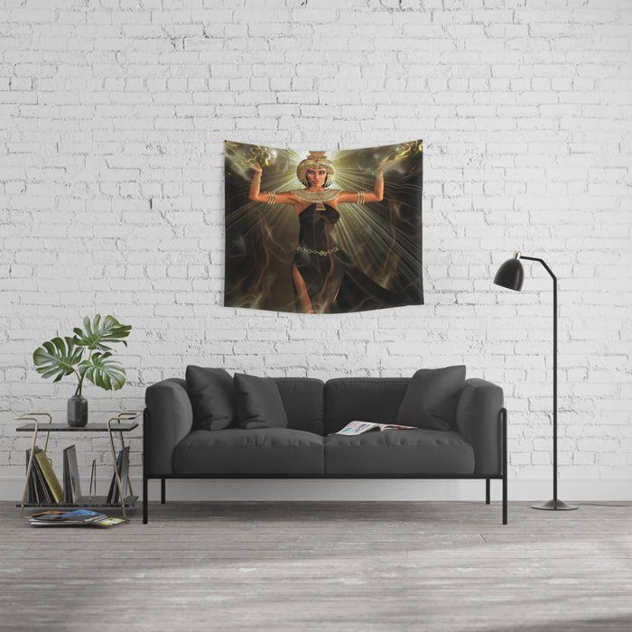 The Light Of Egypt Wall Tapestry