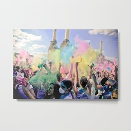 Holi Festival Of Colours Metal Print