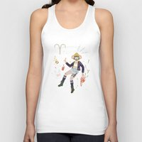 aries Tank Tops featuring Aries by LordofMasks