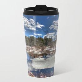Early Spring Marsh Metal Travel Mug