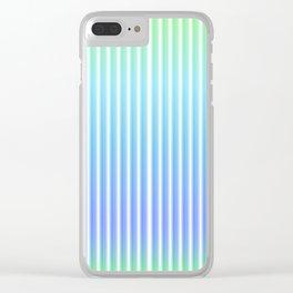 """Peaceful mind"" Minimal geometric art Clear iPhone Case"