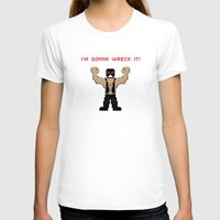 wreck it ralph T-shirts featuring Bane's Gonna Wreck It by LegoBatman
