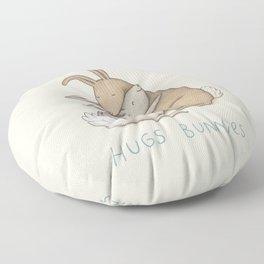 Hugs Bunnies Floor Pillow