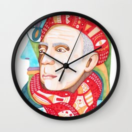 Abstract Pablo Picasso Wall Clock