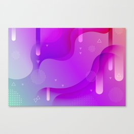 ABSTRACT SCIENCE TECHNOLOGY DESIGN Canvas Print