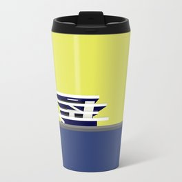 America's Cup Building - Modern architecture abstracts Travel Mug