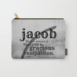 Jacob gracious Carry-All Pouch