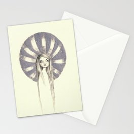 twin - silver Stationery Cards
