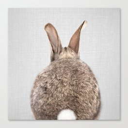 Rabbit Tail - Colorful Canvas Print