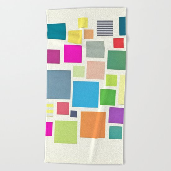 Squared Beach Towel