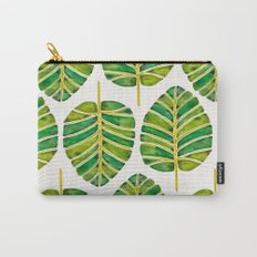 Elephant Ear Alocasia – Green Palette Carry-All Pouch