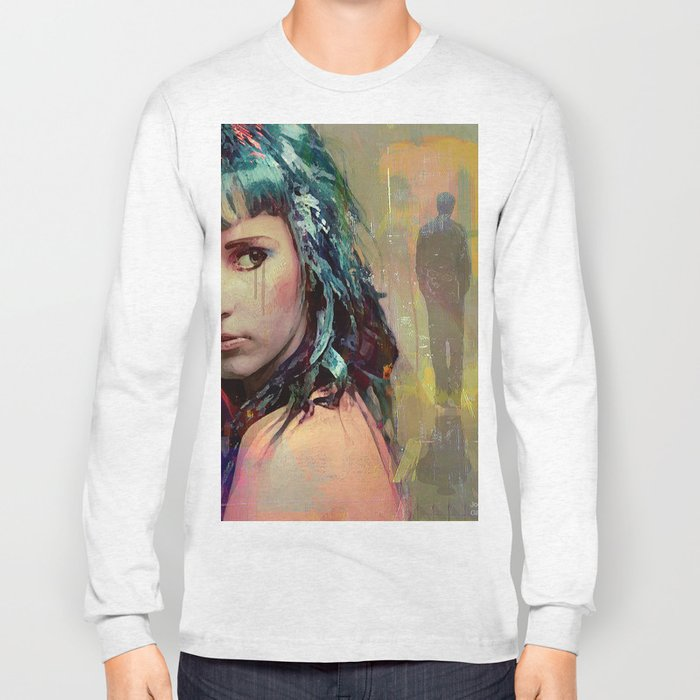 Tell me that he left for one other than I, but not because of me Long Sleeve T-shirt