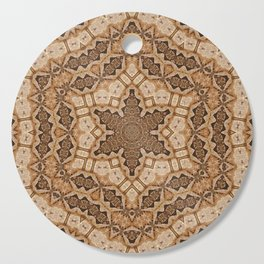 Earth mandala Cutting Board