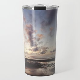 Sunrise over the Beach Travel Mug