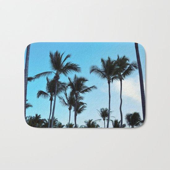 Coconut trees | Praia do Espelho | Brazil Bath Mat