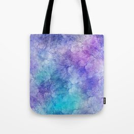 Frozen Leaves 12 Tote Bag