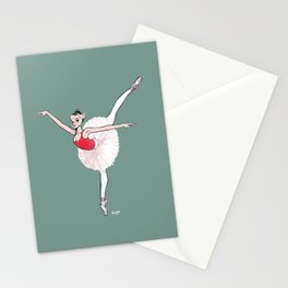 CoolNoodle practice ballet Stationery Cards