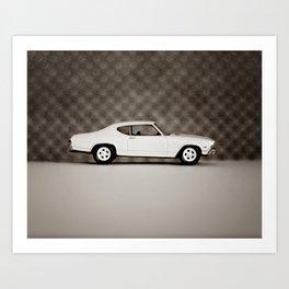 White Chevelle Art Print