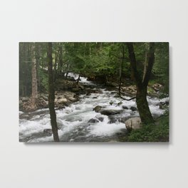 Greenbrier Rapid Metal Print
