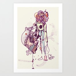 I'm a piece of everything  Art Print