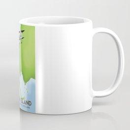 Walney Island England travel poster Coffee Mug