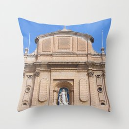 This Old Church Throw Pillow