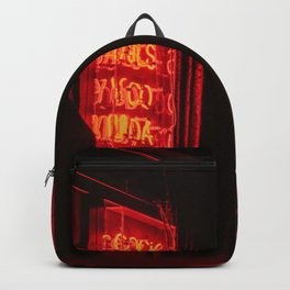 Red Neon Room Backpack