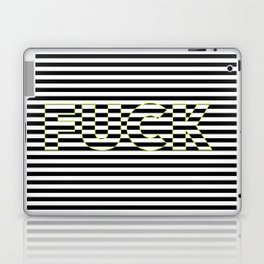 FUCK THE LINES. Laptop & iPad Skin