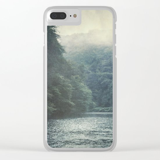 valley and river Clear iPhone Case
