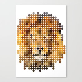 Jungle King Canvas Print