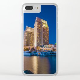 Glimmering lights Clear iPhone Case
