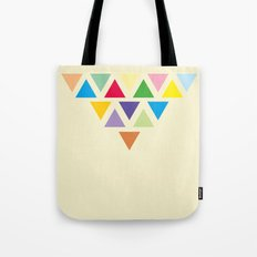 TRIANGLE COMPOSITION Tote Bag