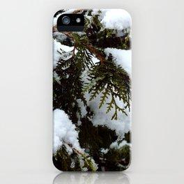 snow trees IIII iPhone Case