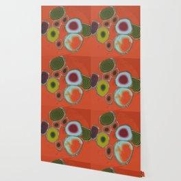 Orange Cells Wallpaper