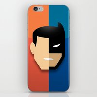 heroes iPhone & iPod Skins featuring Heroes by Evan Gaskin